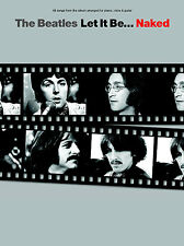 The Beatles Let It Be Naked PVG Learn to Play Piano Vocal & Guitar Music Book
