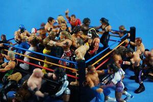 MICRO AGGRESSION Jakks Wrestling Figure Set 10 Cake Topper K1041x10
