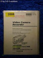 Sony Bedienungsanleitung CCD TR840E TR845E TR411E TR412E TR511E TR640E (#3508)