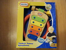 Little Tikes Timber Tunes Xylophone Wood Toy NIB new wood tap a tune instrument