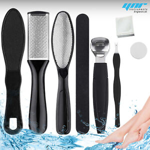 8 X Hard Dry Skin Remove Shaver Foot Pedicure Set Feet Blades Scraper Callus Kit