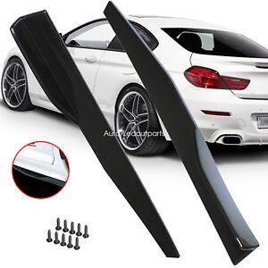 Car Side Fender Skirt Shovel Rocker Splitters Protector Winglet Wing