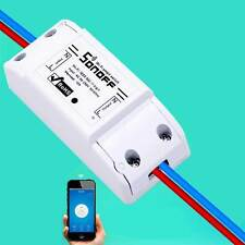 Smart WiFi Sonoff ITEAD Switch Wireless Module ABS Shell Socket for DIY Home