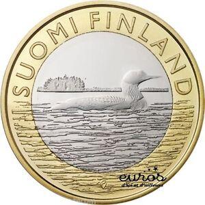 5 EURO COMMEMORATIVE FINLANDE 2014 - Animals of the provinces - Savonia