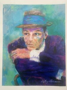 "LeRoy Neiman Frank Sinatra ""The Voice"" Lithograph Print"