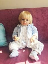 "70cm/28""Big Reborn baby boy doll toy newborn Soft Vinyl silicone Birthday gift i"
