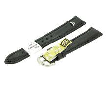 Maurice Lacroix Uhrenarmband, Uhrband, Ersatzband,Teju Eidechse 15 mm schwarz
