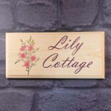 LILY personalizzata Placca/Firmare/Regalo-CASA Cottage Garden NOME FIORI pond