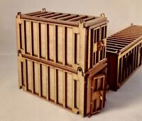 OO Gauge 20 Foot Shipping Containers