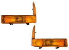 1999-2005 Super Duty Excursion Amber Left&Right Park Turn Signal Lamp Light Pair