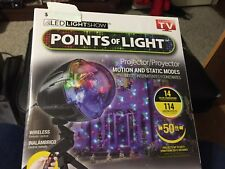 CHRISTMAS LED LIGHTSHOW POINTS OF LIGHT PROJECTOR MOTION & STATIC MODES 114 EFFE
