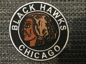 """Chicago Blackhawks Vintage Embroidered Iron On Patch Awesome  Patch 3""""  NHL"""