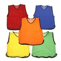 Football Bibs Training Kit Sports Adult One Size Premier League Euro NO BELT