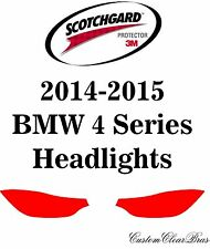 3M Scotchgard Paint Protection Film Clear Bra Pre-Cut Kit 2014 2015 BMW 4 Series