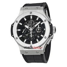 Hublot Big Bang Aero Bang Black Dial Chronograph Mens Watch 311-SX-1170-GR