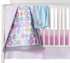 Circo 3 Pc Nursery Crib Pink Bedding Set Geo Chevron Zig Zag Baby Girl