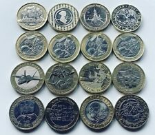 More details for rare £2 coins royal mint two pound coin commonwealth olympic bible navy raf
