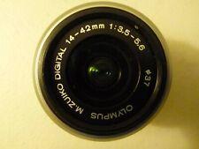 Olympus M. Zuiko Digital 14-42mm Lens (Excellent Condition)