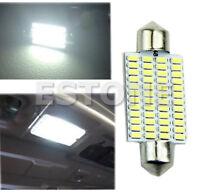 Bright 42mm 48-LED 3014 SMD Car Interior Festoon Dome Light Bulb Lamp White 12V