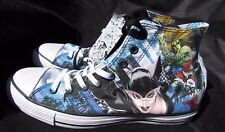 Converse Shoes Men 11 women 13 Black blue DC Comics Hightops Sirens Halloween NW