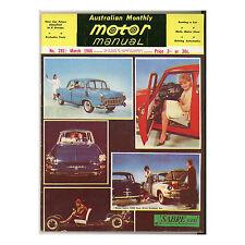 Motor Manual 1966 March 03/66 - Skyline GT, Studebaker Cruiser, Truimph Spitfire