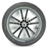 Cerchio anteriore con pneumatico originale PIAGGIO BEVERLY 500 IE 02 06