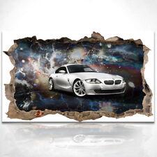 Auto BMW Z4 Bild Leinwand Abstrakte Kunst Bilder Wandbilder Kunstdruck D0879