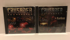 CRUSADER No Remorse & No Regret PC Video Game Lot Windows CD-Rom