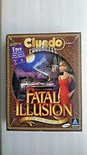 CLUEDO  CHRONICLES FATAL ILLUSION PC Big Box Edition