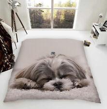 Shih Tzu Luxury Fleece Blanket Throw Dog Lovers Gift