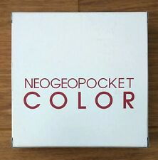 Neo Geo Pocket Color Console Blue Boxed, Complete, Working