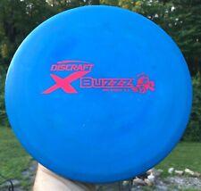 • Disc Golf DISCRAFT - X BUZZZ Mid Range Blue 178g PFN