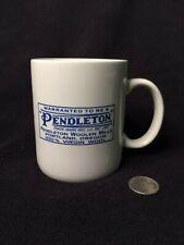 Pendleton Woolen Mills Logo Mug