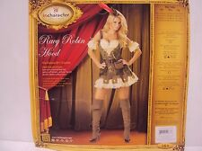 InCharacter Costumes Women Racy Robin Hood Set 2036 XS NEW/without Hat