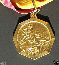 "1986 Medal: Minnesota State ""A"" Bantam Hockey Tournament - on Ribbon"