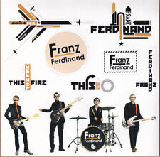 Franz Ferdinand Self Titled / This Fire Rare promo sticker sheet (11 in 1) 1997
