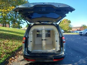 Ex Police Dog Van Auto Ford Galaxy 2 cages Security unit 2015