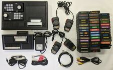 Coleco Vision Video Game System w/ Expansion Module,46 Games, Controllers,Cables