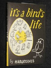 It's a Bird's Life by Hargreaves (1966) Cartoon Humour, Vg Copy Hardcover/Jacket