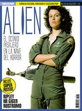 This is Pop Magazine Spain 04 - July 2018 - ALIEN - SIGOURNEY WEAVER - GIGER
