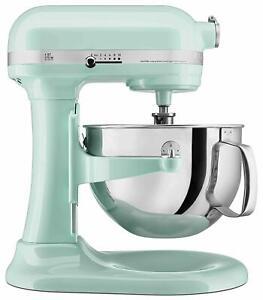 KitchenAid RKP26M1XIC Professional 600 Stand Mixer 6 quart Color Ice REFURBISHED