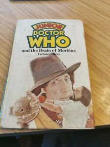 DOCTOR DR WHO W H ALLEN HARDBACK - JUNIOR DOCTOR WHO THE BRAIN OF MORBIUS EX LIB