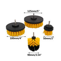 Cleaning Drill Brush Set Grout Power Scrubber for Tile Kitchen Shower Grill 4Pcs