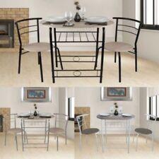 Ensembles de table et chaises de maison en métal pour salle à manger