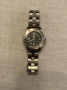 TAG Heuer Watch WN1110 Professional Mens Black Dial Stainless Band