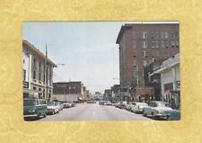 SC Florence 1960s postcard MAIN BUSINESS SECTION us 301 VINTAGE CARS SHOPS