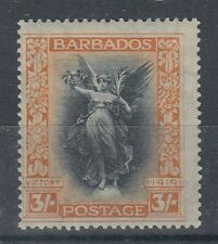 BARBADOS 1920 VICTORY 3/- MINT (ID:741/D51960)