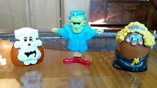 Lot (3) McDonald Happy Meal Toys For Halloween
