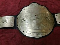 BIG GOLD WCW FANDU BELTS CHAMPIONSHIP WRESTLING BELT IN BRASS PLATES