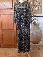 Vintage Hippie Bohemian Ethnic Kaftan Ramona Rull Made In Pakistan